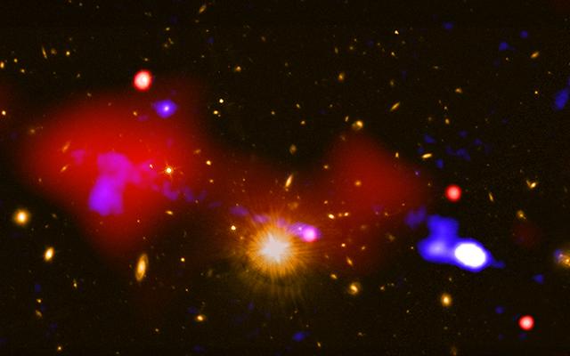 新しい発見は、ブラックホールが星形成に影響を与える可能性がある驚くべき方法を示しています