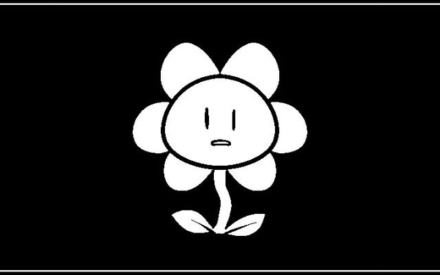 The Life of Undertale's Flowey, w formie GIF