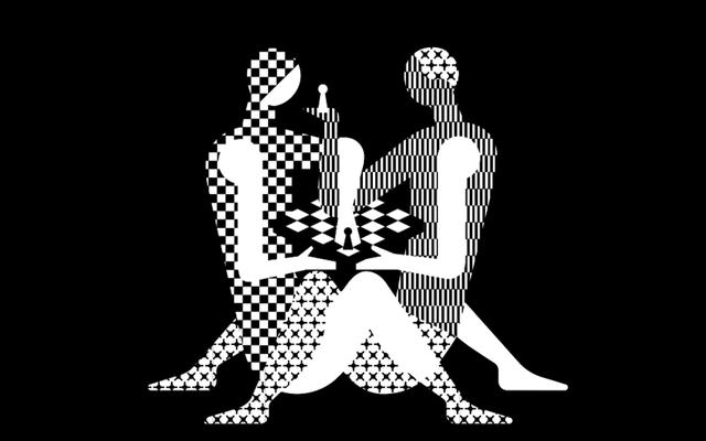 """नई विश्व शतरंज चैम्पियनशिप का लोगो कहता है, """"अरे, चलो भाड़ में जाओ"""""""