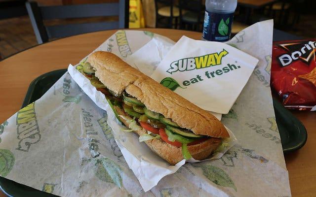 Subway è un negozio di alimentari adesso?