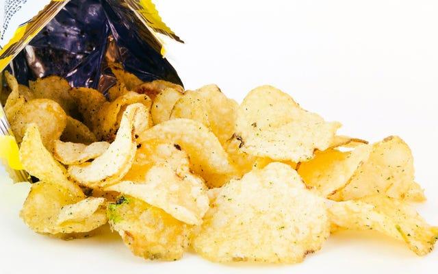 ポテトチップスをより長く新鮮に保つ方法:科学的調査