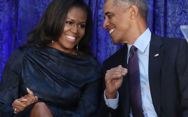 バラクとミシェルオバマは結婚26周年を祝う