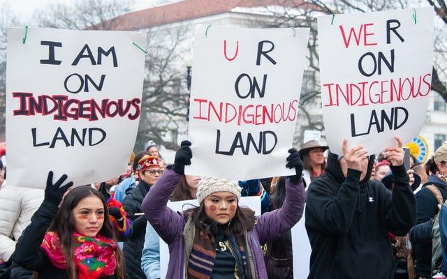 このアプリであなたがいる先住民の土地を発見する