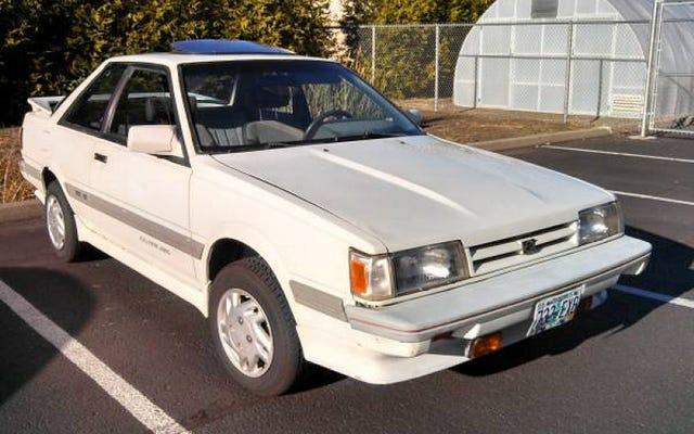 ด้วยราคา 2,000 เหรียญสหรัฐ Subaru RX Turbo ปี 1988 คันนี้เป็น Leone ในฤดูหนาว