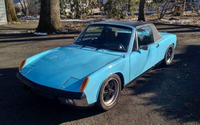 $ 23,500 में, क्या यह सुबारू-संचालित 1972 पॉर्श 914 ऑल वेट का विक्रेता है?