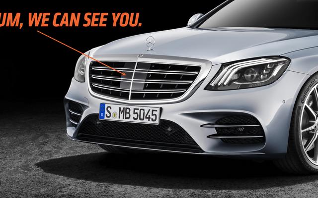 Les concepteurs de voitures doivent cesser de cacher les émetteurs de radar dans les grilles, car cela ne trompe personne