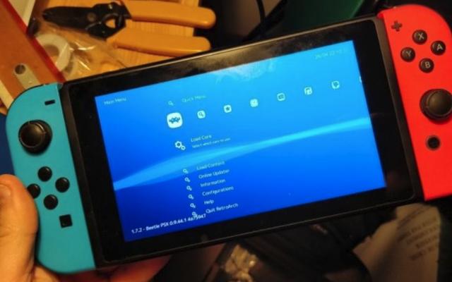 L'émulateur multi-console fonctionne désormais sur des commutateurs piratés