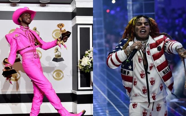 Tekashi69 के होमोफोबिया के जवाब में Lil Nas X के पीछे घोड़े और रसीदें हैं