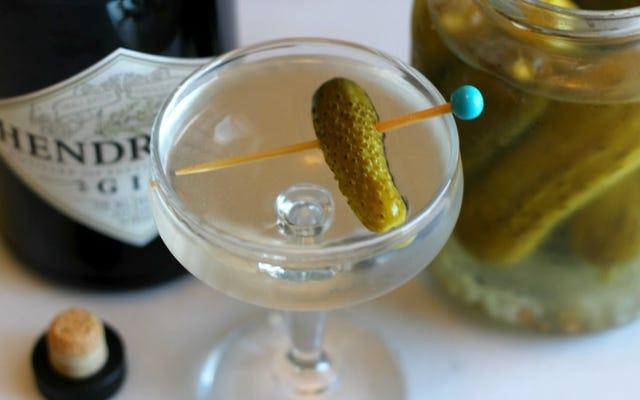 Happy Hour à 3 ingrédients: le Pickletini polarisant