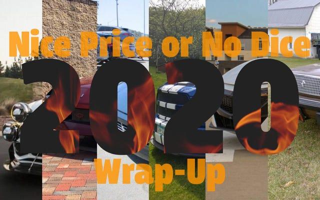 Kết thúc năm 2020 cho 'Giá tốt hoặc không có xúc xắc'