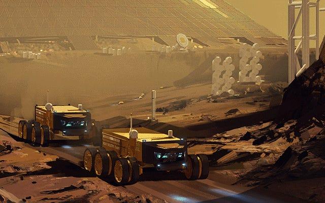 Homeworld: Les déserts des créateurs de Kharak ont travaillé avec la NASA sur un projet cool sur Mars