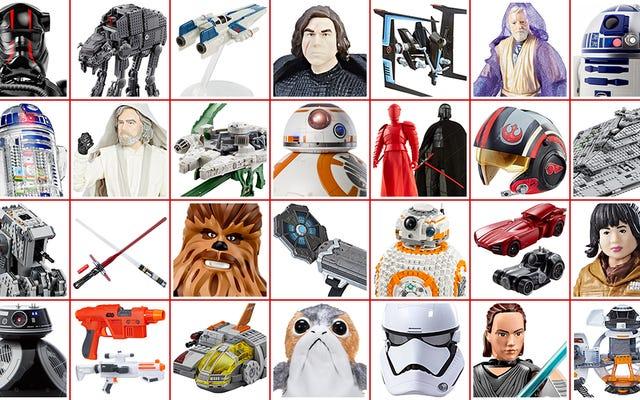 Wszystkie wspaniałe nowe Gwiezdne wojny: Ostatnie zabawki Jedi ujawnione w Force Friday II (AKTUALIZACJA)
