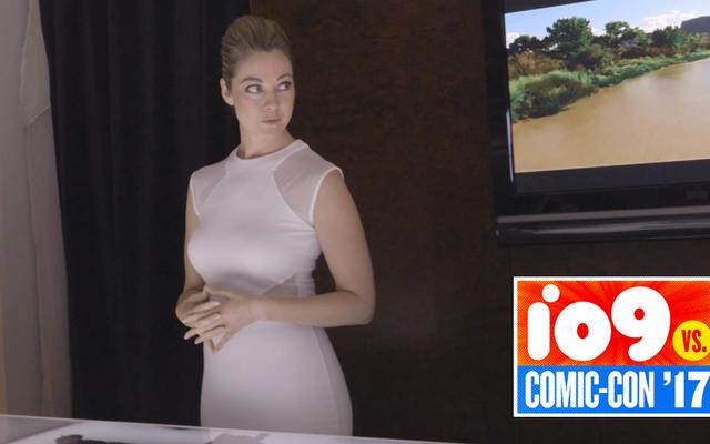 Làm bài kiểm tra cuối cùng trong Trải nghiệm Comic-Con ly kỳ của Westworld