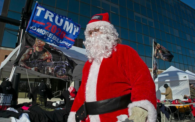 The Trump Administration Plot to Turn Santas Into Covid-Vaccine Influencers