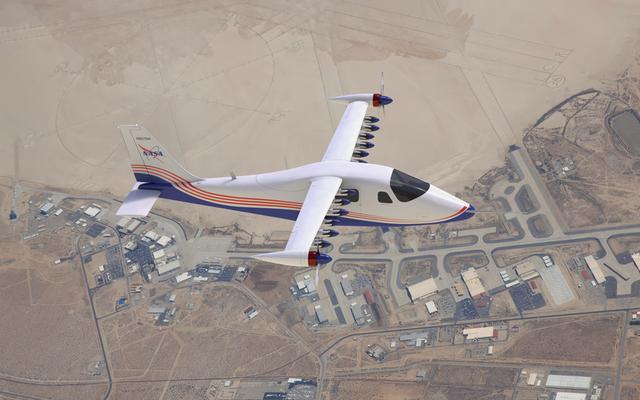 NASAの実験用電気飛行機のエッジが初飛行に近づく