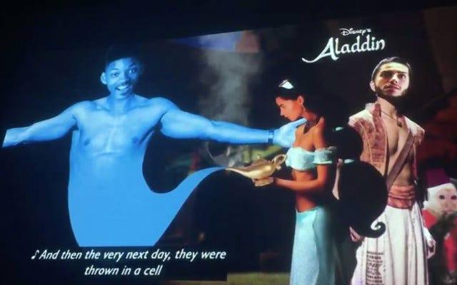 Новый и совершенно настоящий Уилл Смит считает, что рэп для Аладдина впечатляет