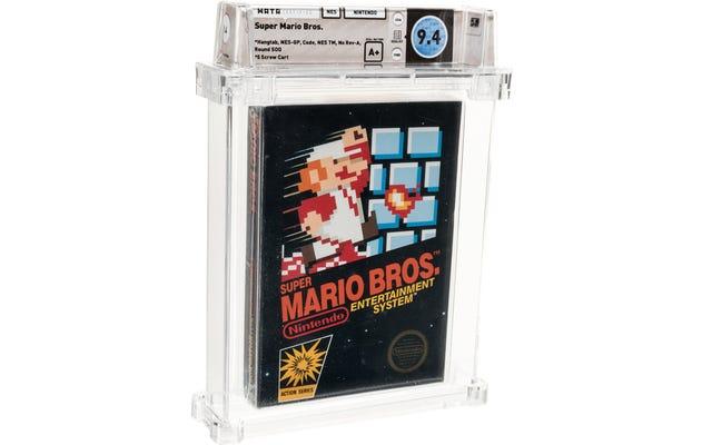 Bản sao hiếm hoi của Super Mario Bros. được bán đấu giá với giá kỷ lục 114.000 đô la
