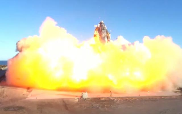 ライブを見る:SpaceXが再びスターシッププロトタイプを高高度に打ち上げようとする[更新:爆発した]