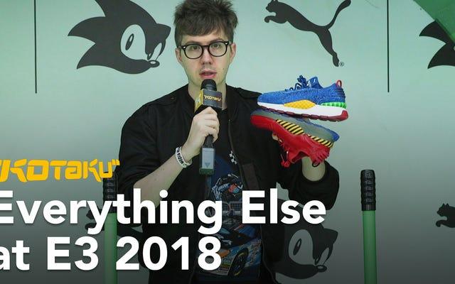 ई 3 डी 2018 में सबसे अजीब चीजें मिलीं