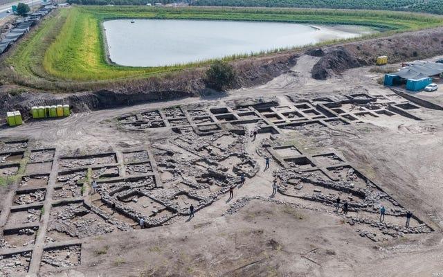 イスラエルで発見された5、000年前のメガロポリスの遺跡