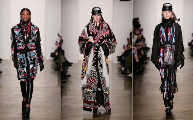 KTZ s'approprie la culture amérindienne à la Fashion Week
