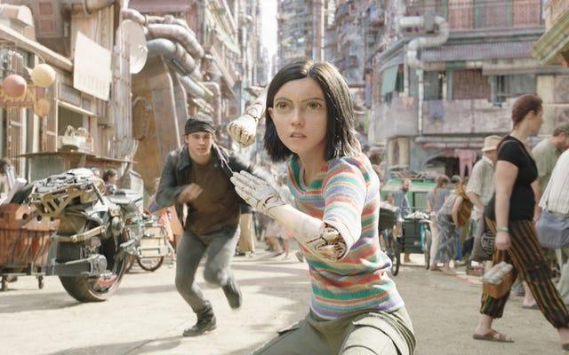 Bu beklenmedik ünlü insanlar Alita'da: Savaş Meleği sırf bir devam filmi ayarlamak için