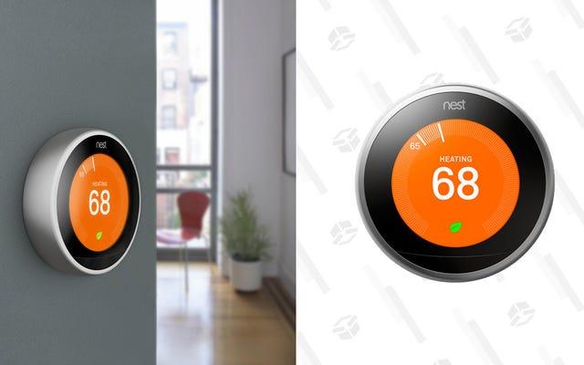 Купите термостат Google Nest всего за 139 долларов