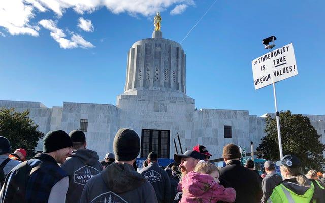 オレゴン州の共和党員が気候変動法案の投票で再び逃走中