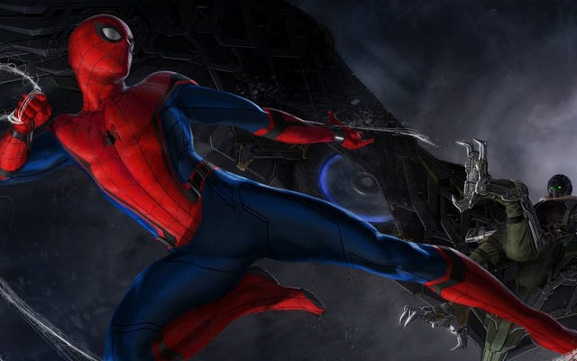 Первый постер нового фильма о Человеке-пауке просто идеален