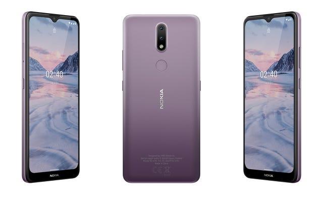 Les nouveaux téléphones à petit budget de Nokia offrent des fonctionnalités étonnamment décentes à bas prix
