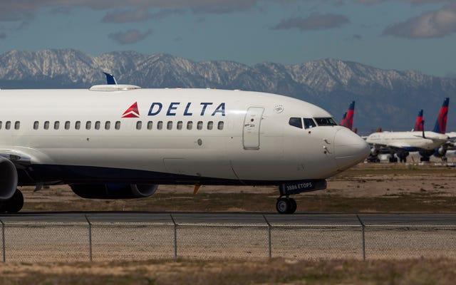 Delta podobno mówi stewardom, aby nie powiadamiali kolegów, jeśli dostaną koronawirusa