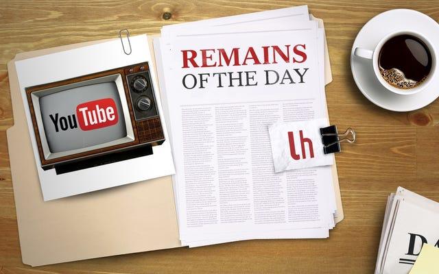 今日の残り:YouTubeは30秒のスキップできない広告を終了します