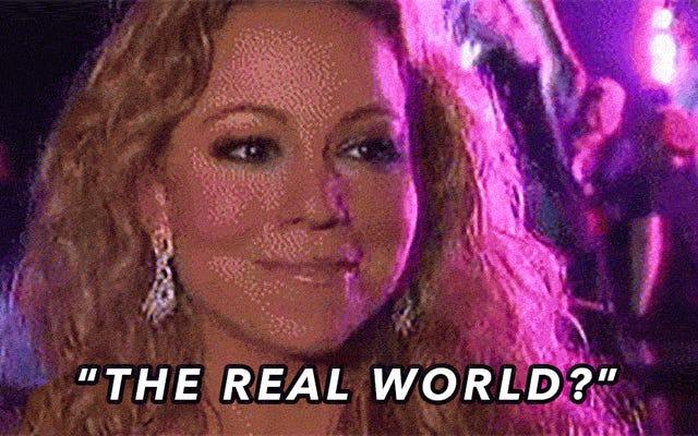 """Mariah Carey è, secondo le sue stesse parole, """"letteralmente incapace di stare nel mondo reale"""""""