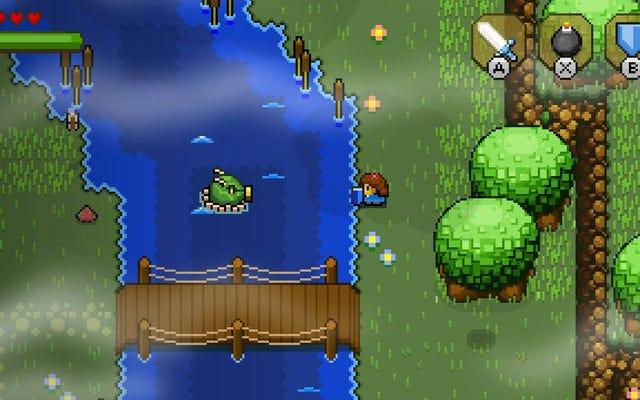 Коммутатор получил отличный 2D-клон Zelda сегодня