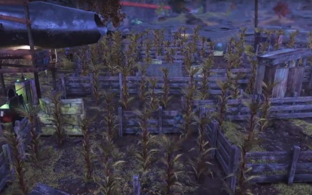 フォールアウト76プレイヤーが秋に歓迎するトウモロコシの迷路を構築
