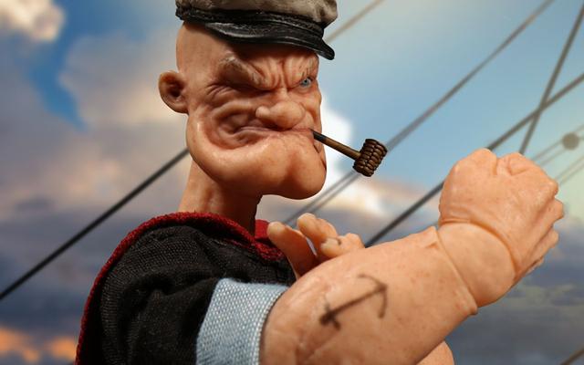 Sosok Popeye yang Realistis Ini Adalah Mimpi Buruk yang Tidak Ingin Dilihat Dunia