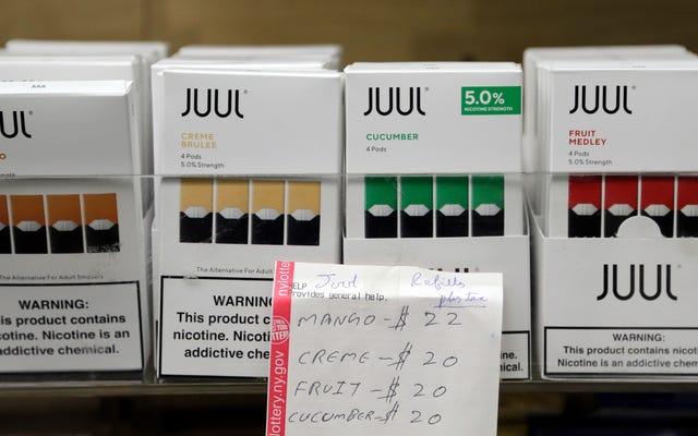 Le gouverneur de New York, Andrew Cuomo, déclare qu'il va déclarer une urgence sanitaire pour interdire les cigarettes électroniques aromatisées