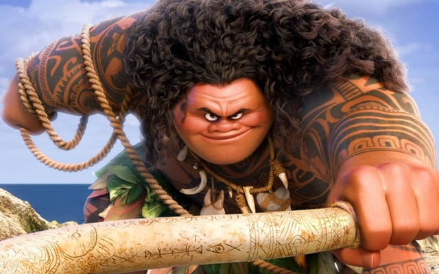 Disney Does Brownface ใน Moana Costume Misfire