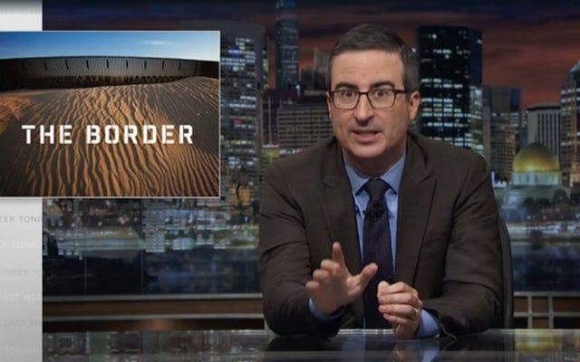 John Oliver montre comment les plans de patrouille frontalière de Trump nous mettent au bord du désastre