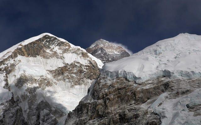 El lanzamiento más icónico del Everest, The Hillary Step, se ha ido