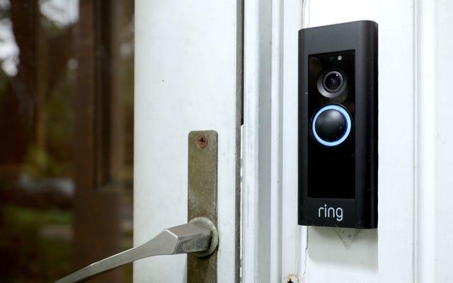 リングはアプリのメジャーアップデートを削除し、プライバシーとセキュリティの設定を前面と中央に配置します