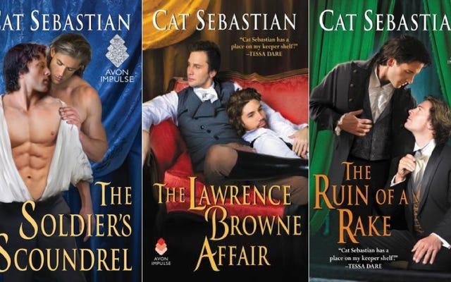 歴史ロマンスでクィアキャラクターを書くことについての猫セバスチャンとのチャット