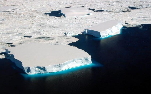 Tajemnica rekordowego spadku lodu morskiego na Antarktydzie została rozwiązana