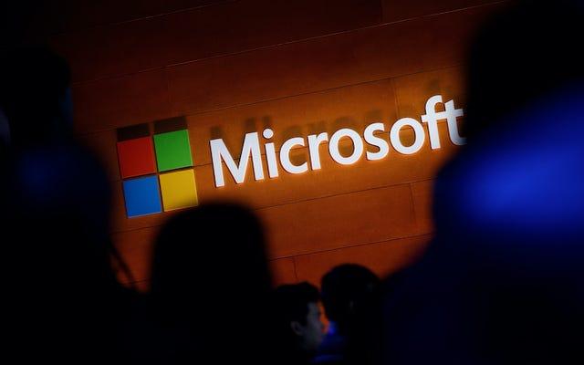 伝えられるところによると、ハッカーは数百のMicrosoftC-Suite電子メール資格情報をわずか100ドルで販売しています。