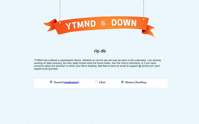 YTMNDが暗くなった理由がわかりました