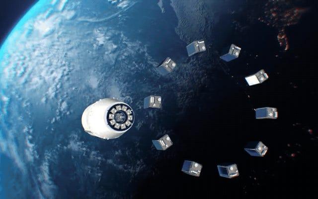 पेप्सी एक विज्ञापन अभियान को रद्द कर देती है जिसमें एक विशाल विज्ञापन को अंतरिक्ष में रखा जाता है