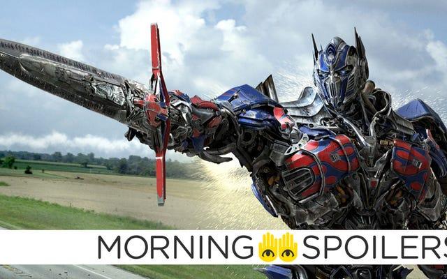 ทำไม Optimus Prime ถึงต่อสู้กับมังกรใน Transformers: The Last Knight?