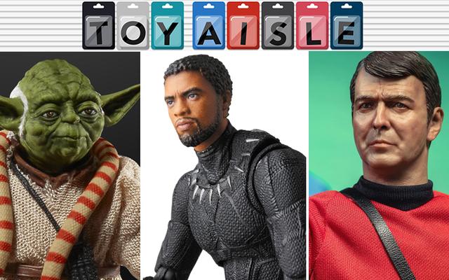 Star Wars, Star Trek, dan Tokoh Black Panther yang Memukau, dan Lebih Banyak Mainan Tercantik Minggu Ini