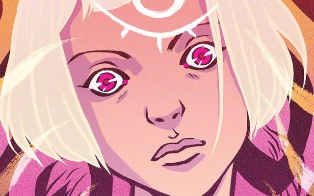 Pahlawan super menjadi nyata dalam eksklusif Shade, The Changing Girl # 1 ini