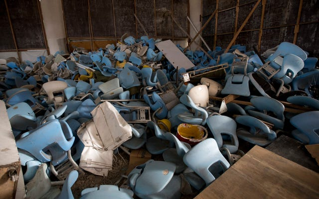 リオのオリンピック会場は、大会からわずか6か月後に地獄のように見えます